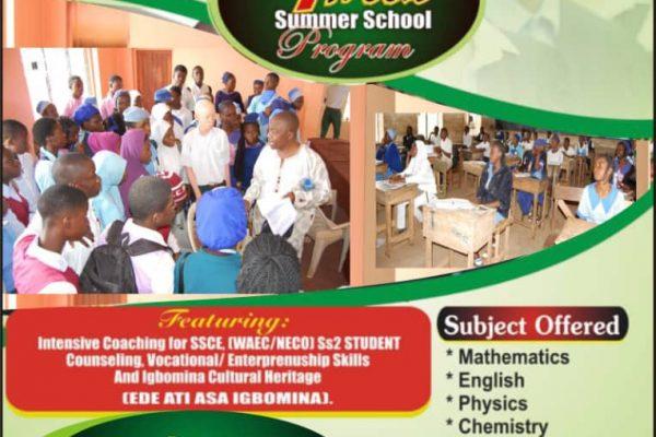 up coming events Igbomina SummerSchool 2019